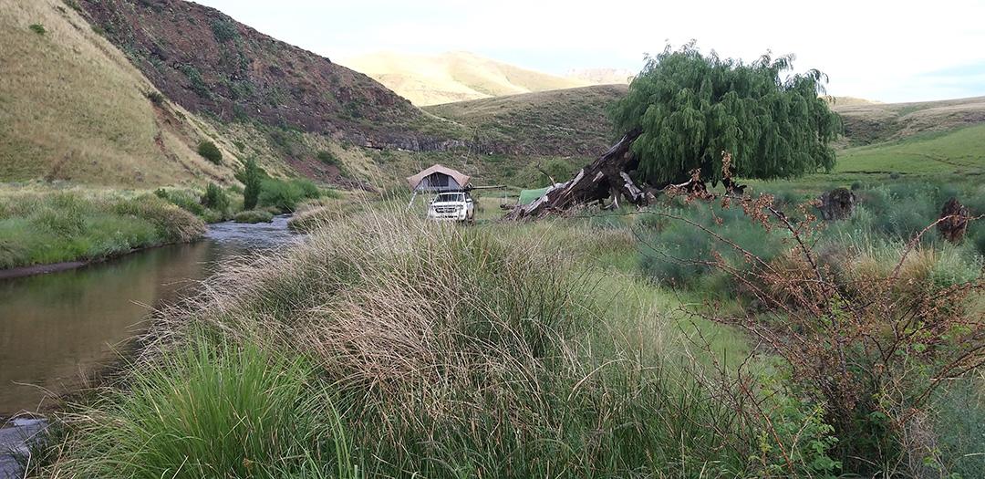 Wild Camping Main Along Bell River